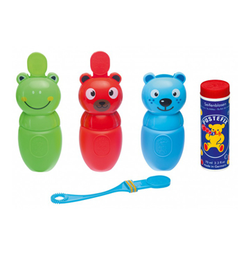 Pustefix bubble friends Red Bear 1